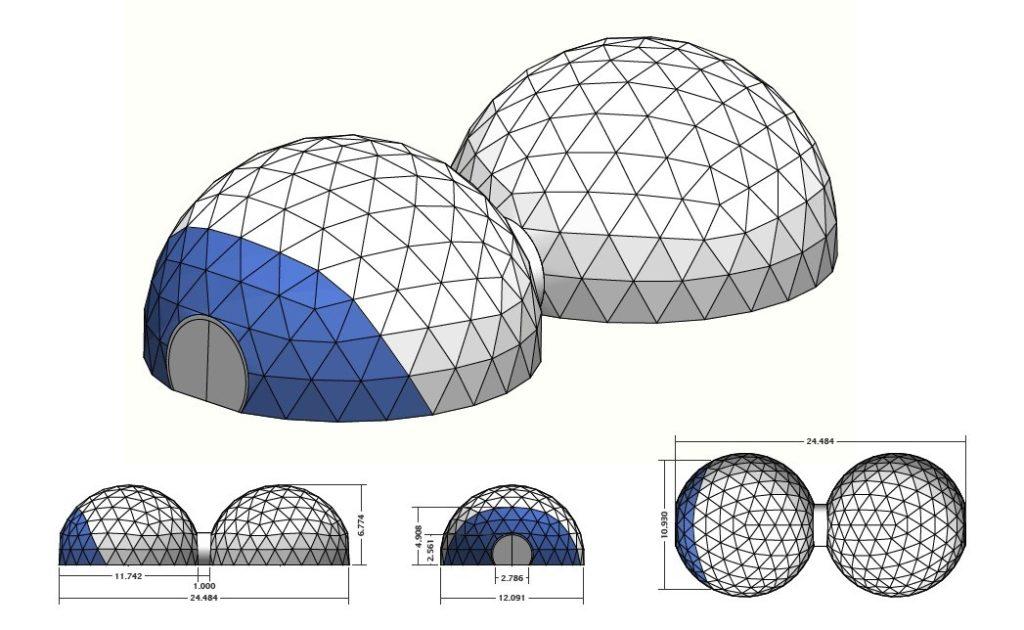 acquisto cupola geodetica