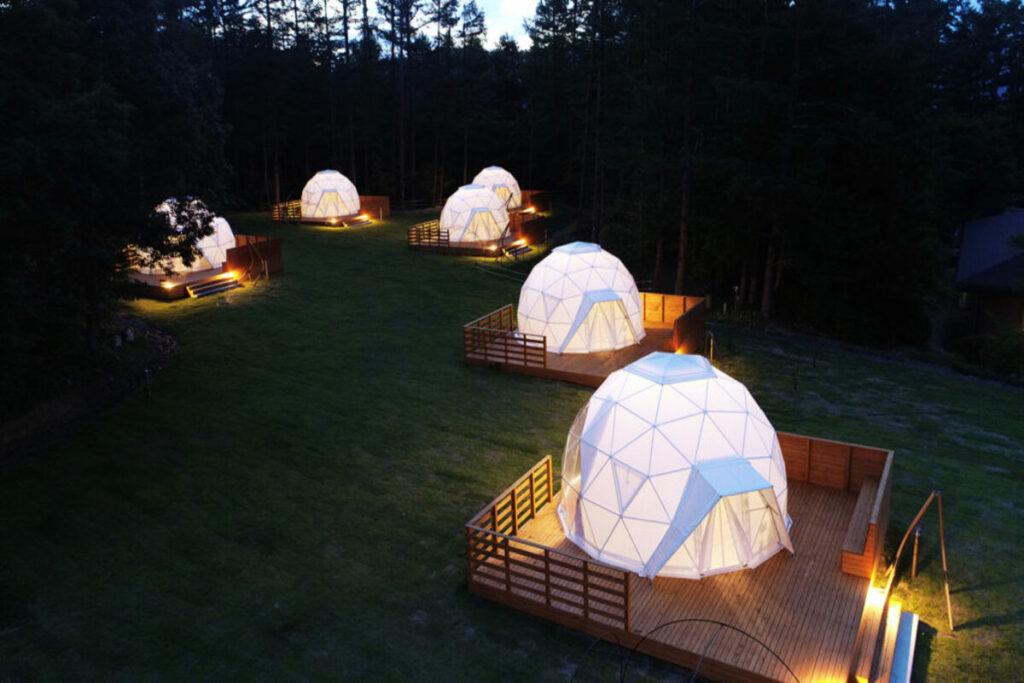 cupola geodetica permessi