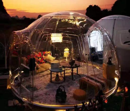 cupola geodetica in vetro1