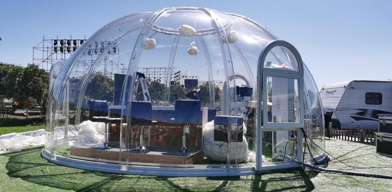 Cupola geodetica in vetro: conviene?